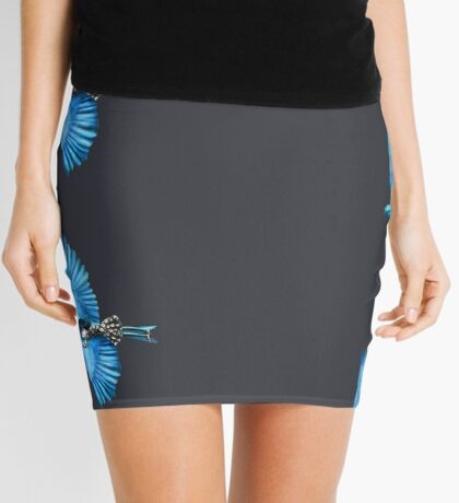 The Blue Bird Mini Skirt