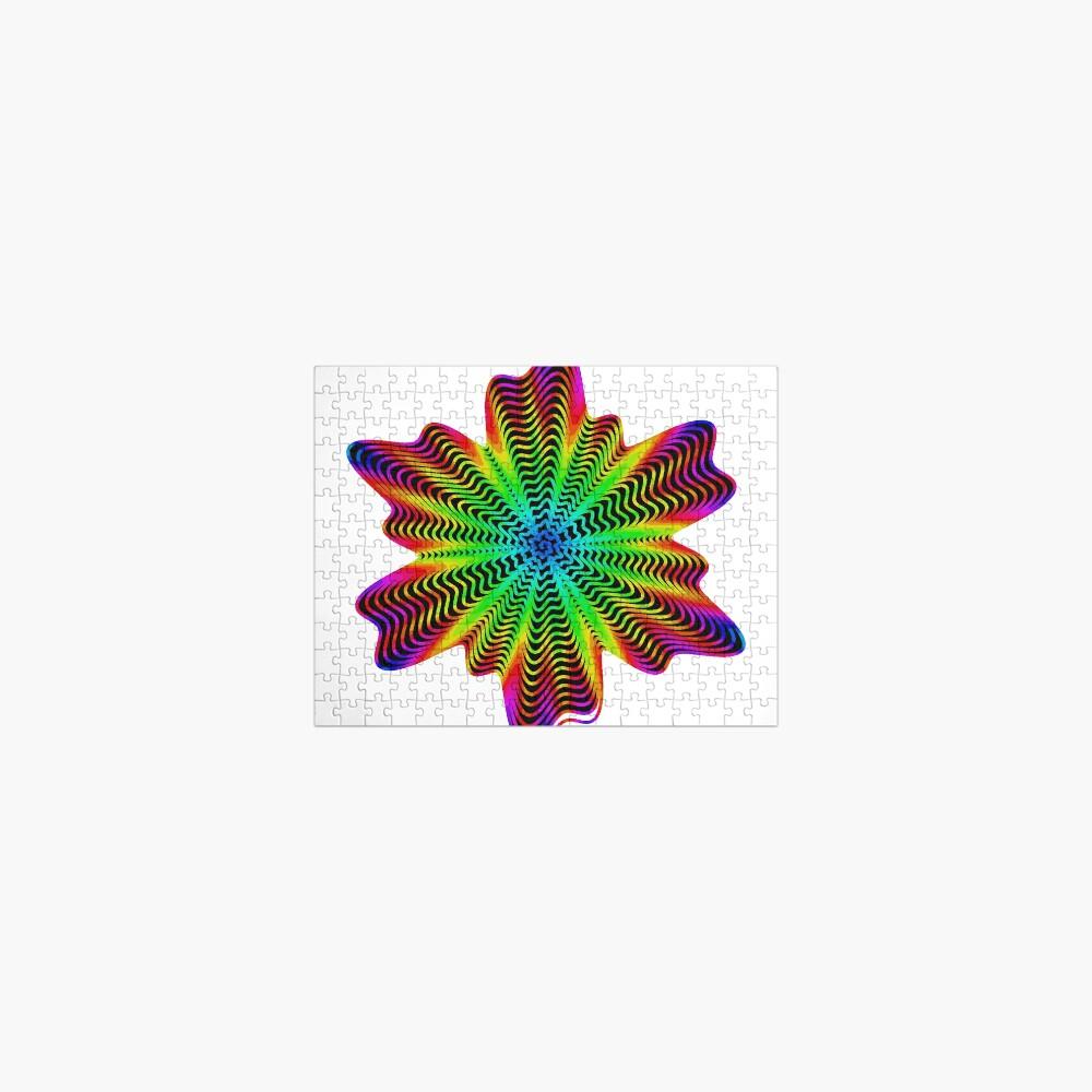 Trippy Decorative Pattern Jigsaw Puzzle