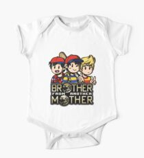 Another MOTHER Trio -alt- (Ness, Ninten & Lucas) One Piece - Short Sleeve