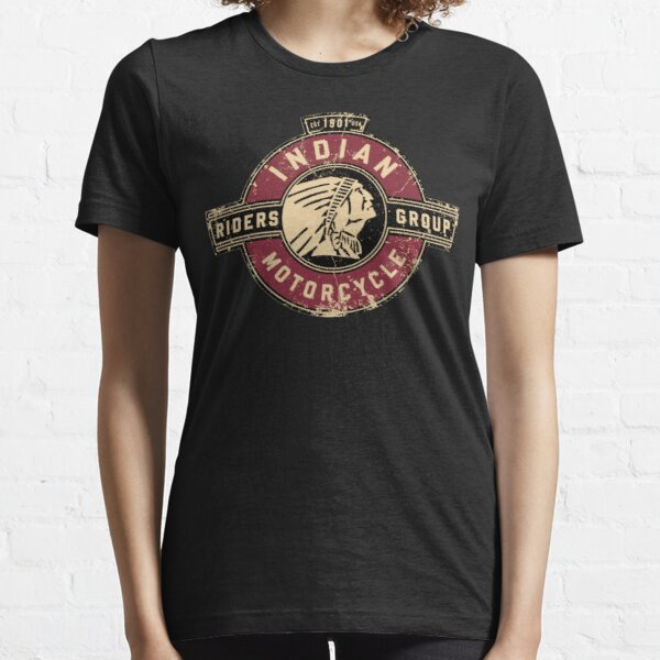 Indian Motorcycle - Riders Group - T-shirt classique vintage, sweat à capuche, autocollant, masque T-shirt essentiel