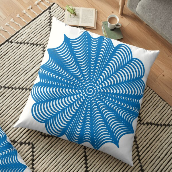Trippy Decorative Pattern Floor Pillow