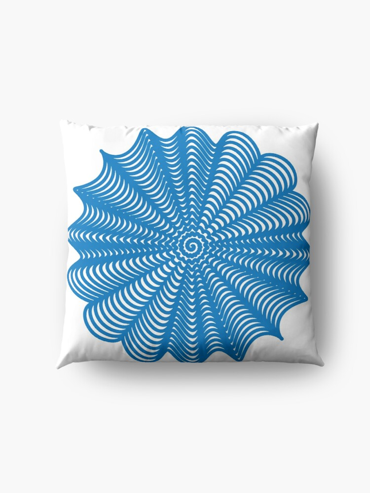 Alternate view of Trippy Decorative Pattern Floor Pillow