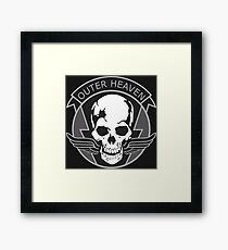 MGS - Outer Heaven Logo Framed Print