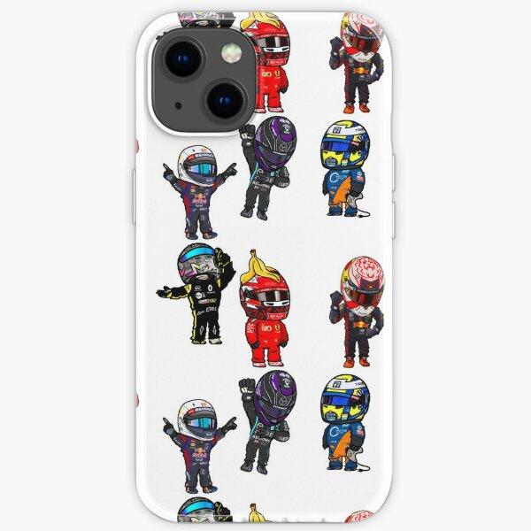 F1 Mini Drivers Sticker Pack iPhone Soft Case