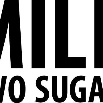 Milk, two sugars. by lashy1089