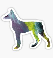Doberman  Sticker