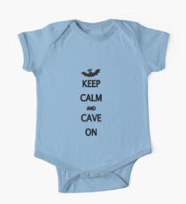 Keep Calm and Cave On Kids Clothes