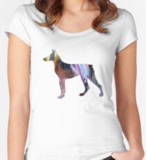Doberman Pinscher Women's Fitted Scoop T-Shirt