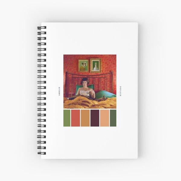Paleta de colores de Amelie Poulain Cuaderno de espiral