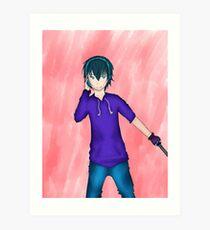 Shinto - Anime boy Art Print