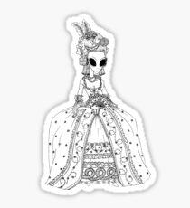 Pegatina Alien Rococo