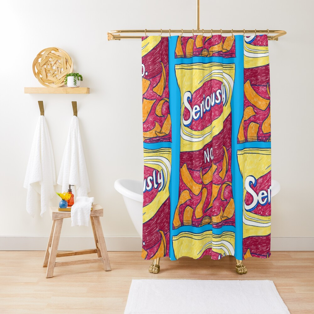 Seriously No Shower Curtain