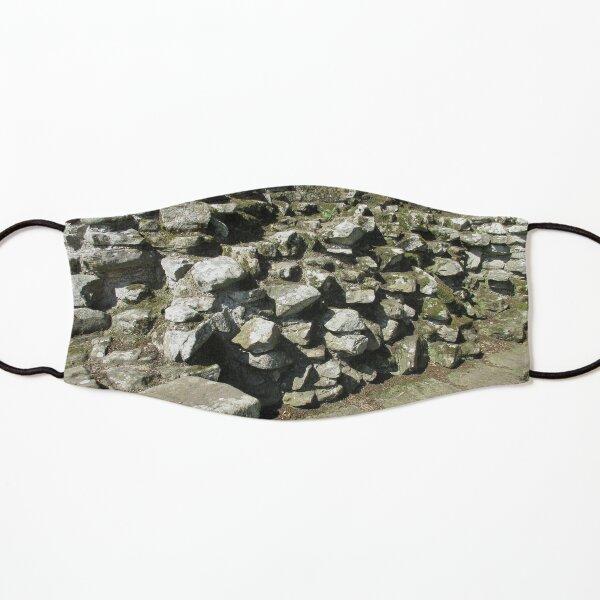 M.I. #111  ☼  Rocks And Bricks - Shot 13 (Hadrian's Wall) Kids Mask