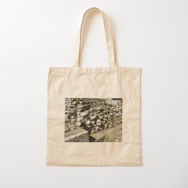 M.I. #111 |☼| Rocks And Bricks - Shot 13 (Hadrian's Wall) Cotton Tote Bag