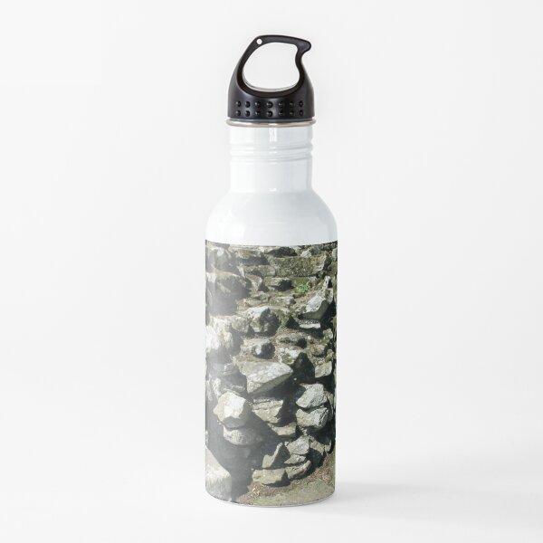 M.I. #111 |☼| Rocks And Bricks - Shot 13 (Hadrian's Wall) Water Bottle