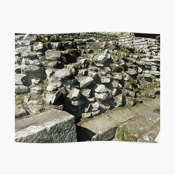 M.I. #111  ☼  Rocks And Bricks - Shot 13 (Hadrian's Wall) Poster