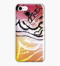 Octopus Abstrac Vector iPhone Case/Skin