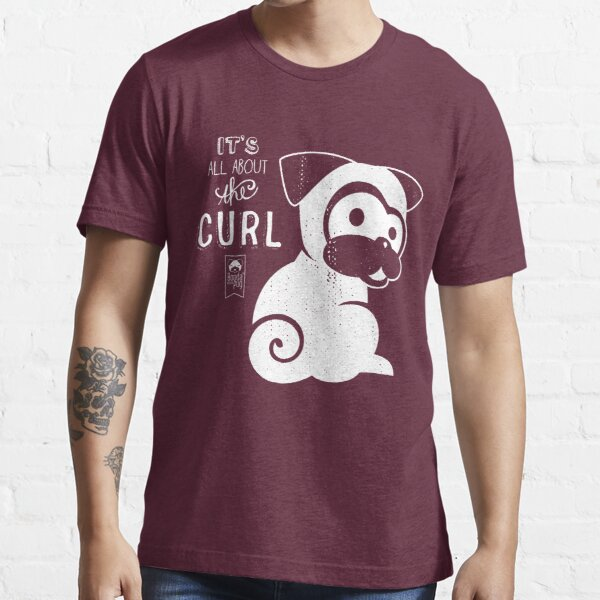 It's All About the Curl Tee (Vintage Look) Essential T-Shirt