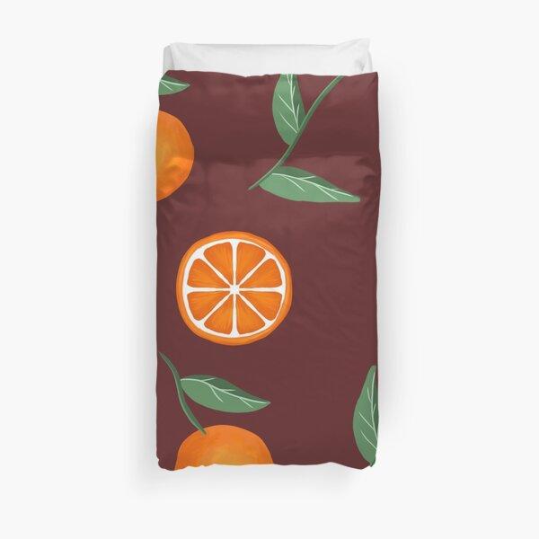 Oranges Duvet Cover