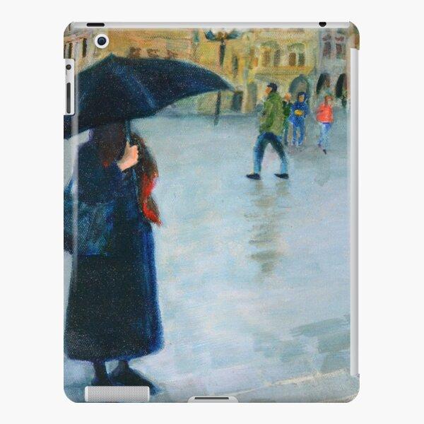 Prague in the rain iPad Snap Case