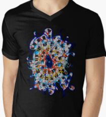 Amistedos V2 - digital art Mens V-Neck T-Shirt