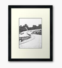 the Highway Framed Print