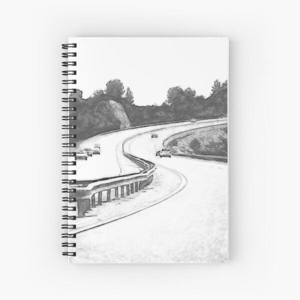 the Highway Spiral Notebook