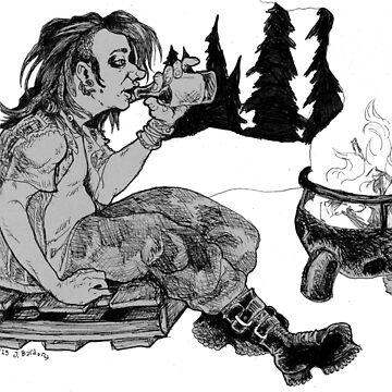 Backwoods Punk by wingsofjudas
