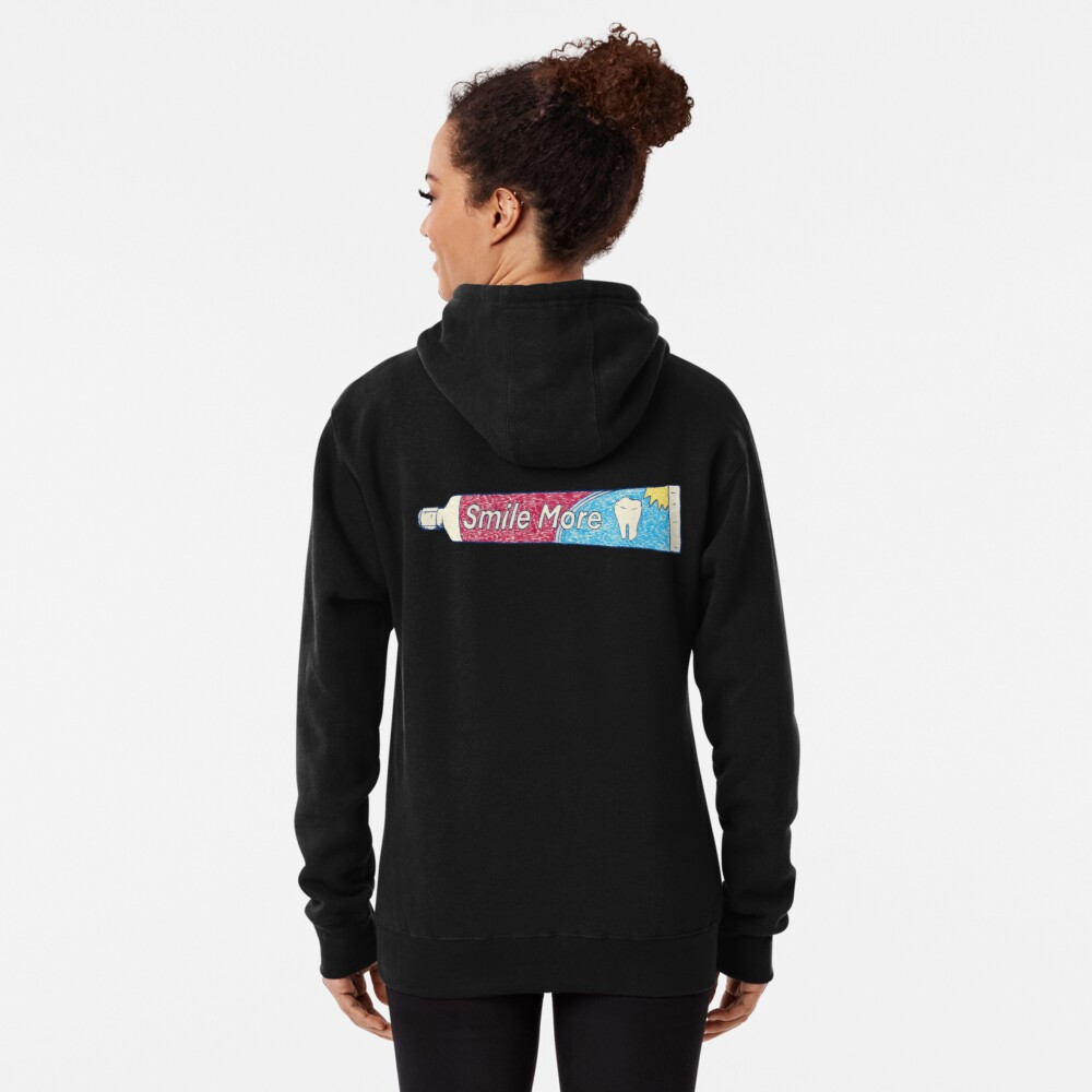 Smile More Pullover Hoodie
