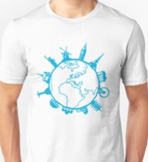 Cities of the World Unisex T-Shirt