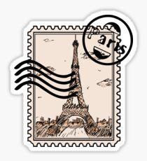 Pegatina Sello de París