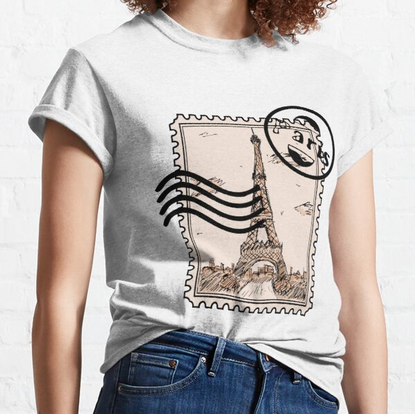 Paris Stamp Classic T-Shirt
