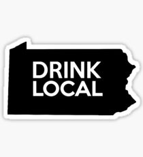 Pennsylvania Drink Local PA Sticker