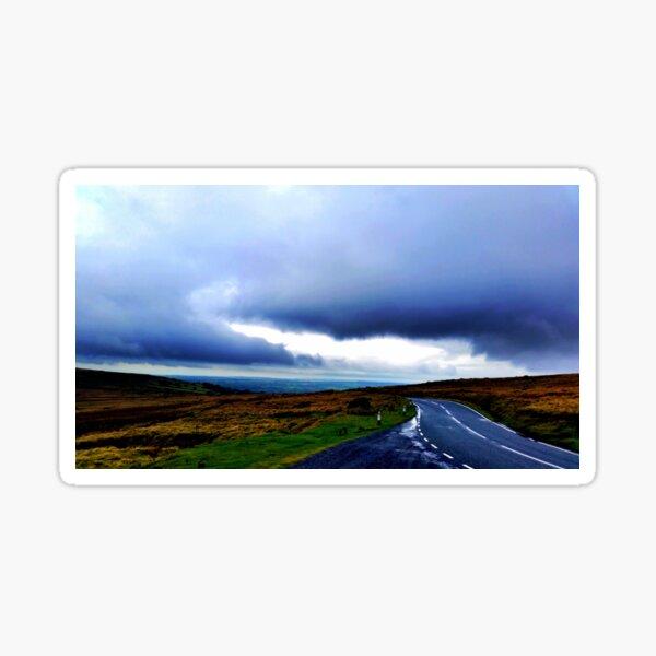Gloomy Road - Wales Sticker
