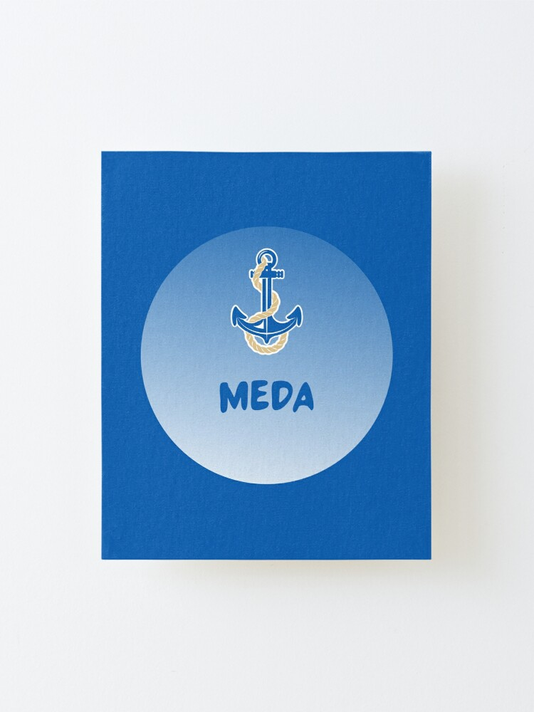 Alternate view of Meda Mounted Print