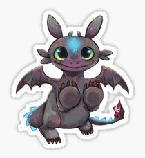 Cute tiny dragon Sticker