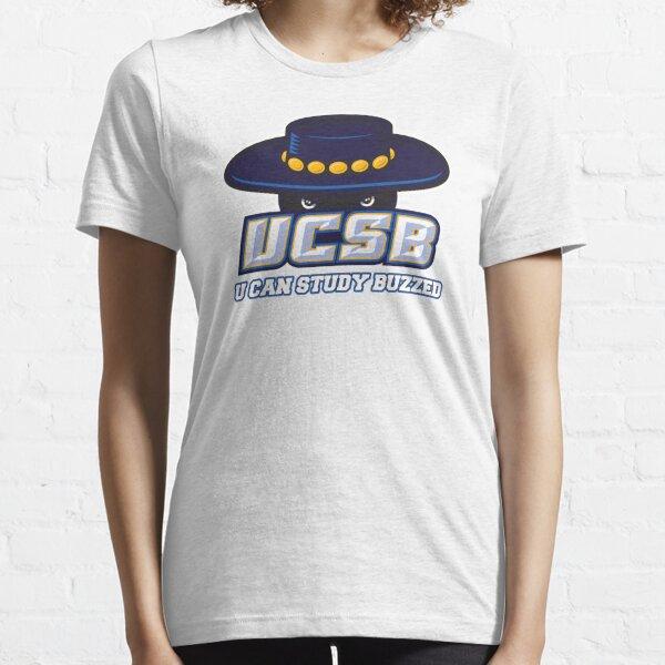 UCSB U CAN STUDY BUZZED Essential T-Shirt