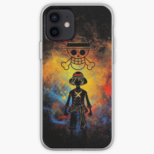 Luffy One Piece Coque souple iPhone
