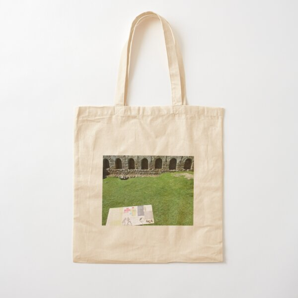 M.I. #112 |☼| The Changing Hall - Shot 1 (Hadrian's Wall) Cotton Tote Bag