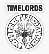Time Lords 3 Sticker