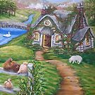 Cottage Lane by L.W. Turek