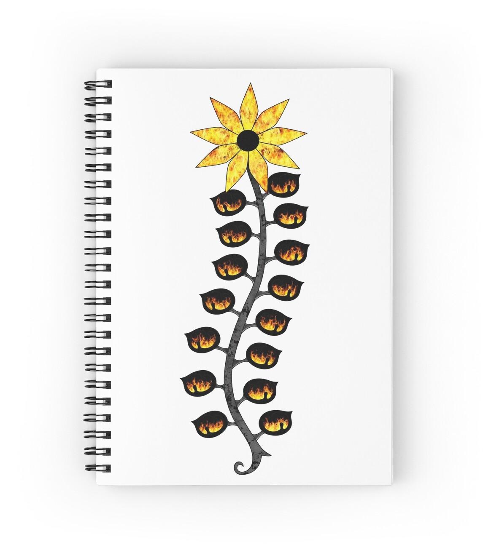 """Spirit Vessel Link's Spirit (Fire)"" Spiral Notebooks by ..."
