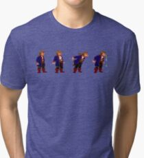 Monkey Island Spit Contest Tri-blend T-Shirt