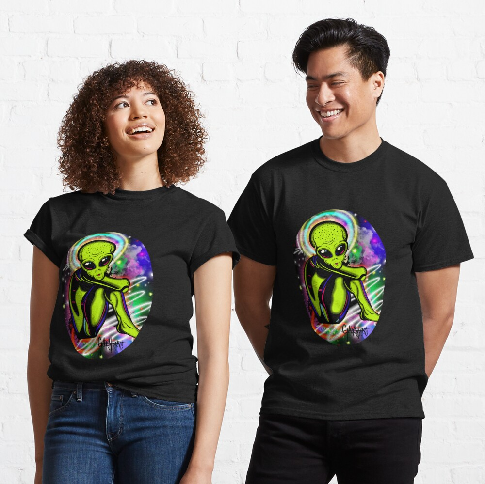 Debilitated Alien Classic T-Shirt