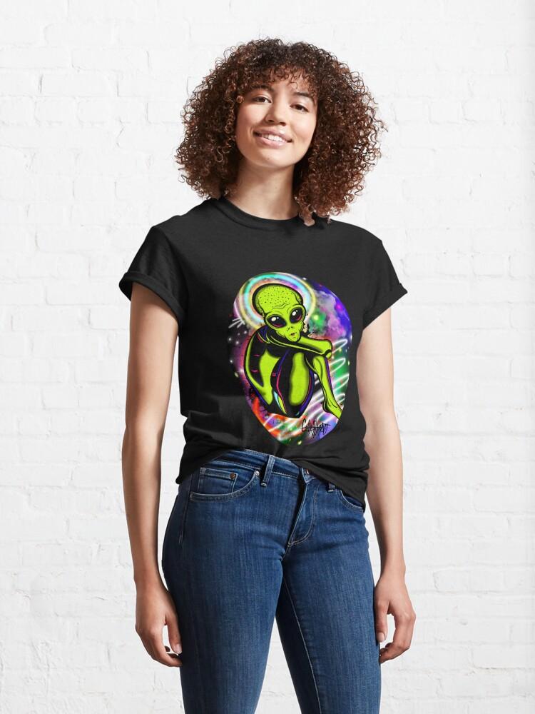 Alternate view of Debilitated Alien Classic T-Shirt