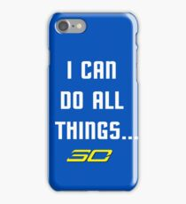Steph Curry Do All Things iPhone Case/Skin