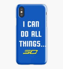 Steph Curry Do All Things iPhone Case