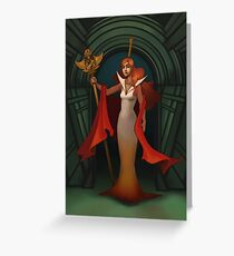 Glinda Greeting Card