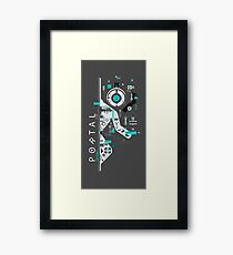Portal Love Framed Print