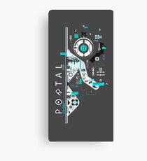 Portal Love Canvas Print